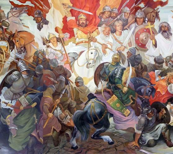 Schlacht am Fluß Suri.