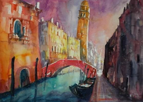 Venedig Rio di San Lorenzo