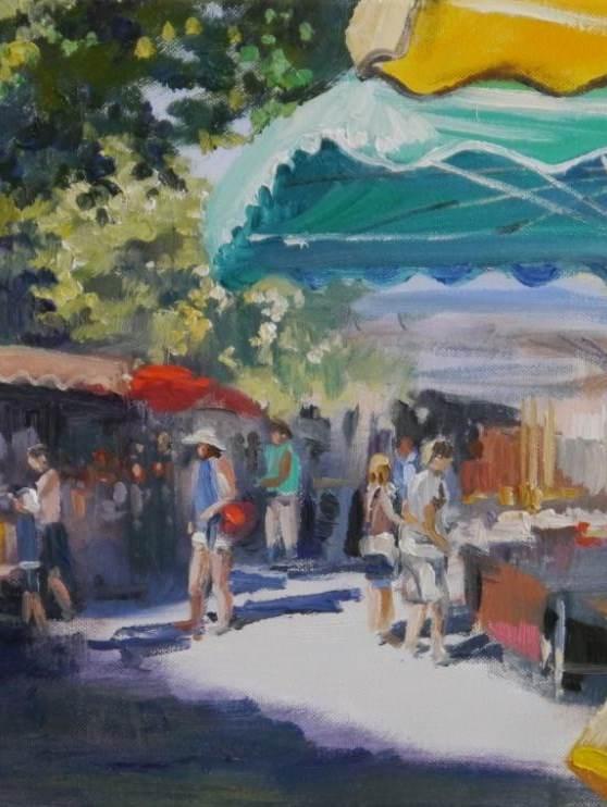 Markt in Bonnieux