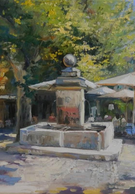 Brunnen in Gordes - Provence