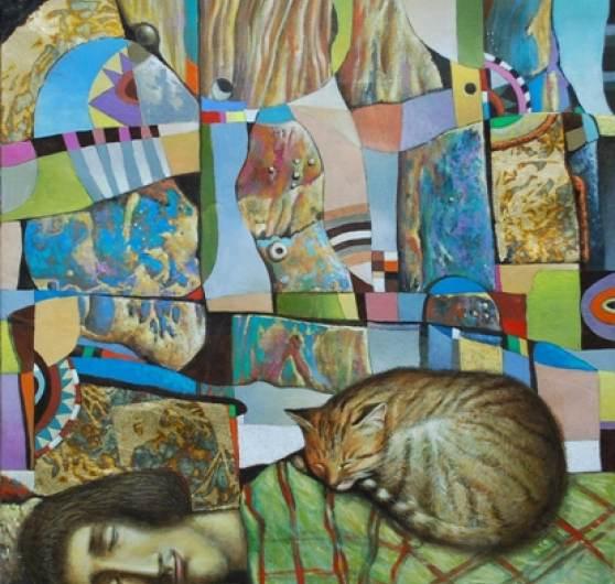 abstrakter traum