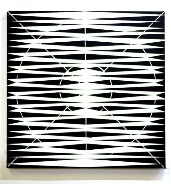 O.T., 2020 Acryl auf Leinwand 60 x 60 cm