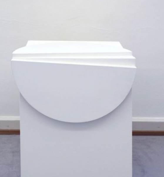 Kreissegment, 2019, ca. 80 x 80 cm, Acryl auf Holz