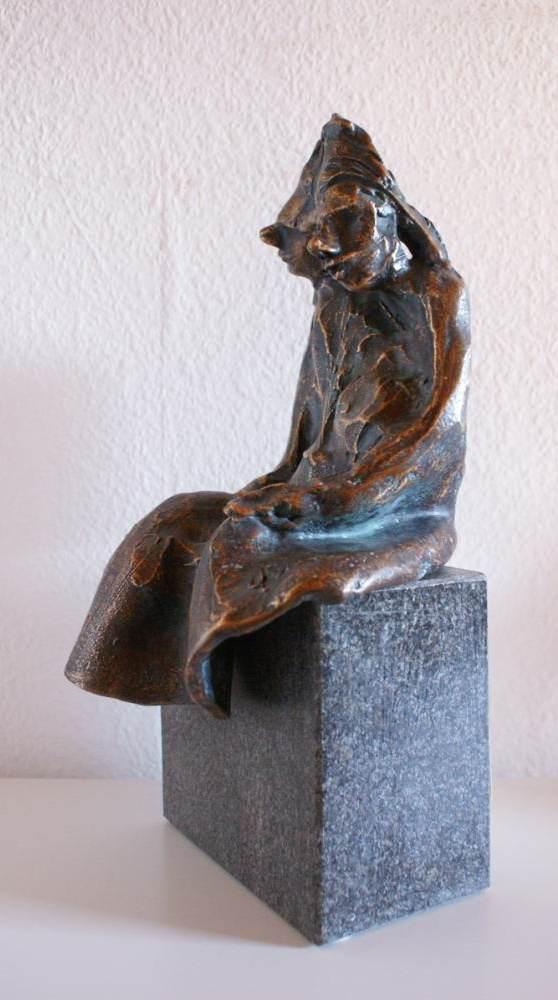 Aliebespaar Bronze