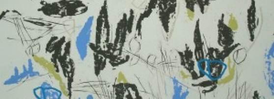 LS 4 - Hochdruck auf Büttenpapier - 2012