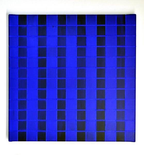 Blue, 2020 Acryl auf Leinwand, 40 x 40 cm