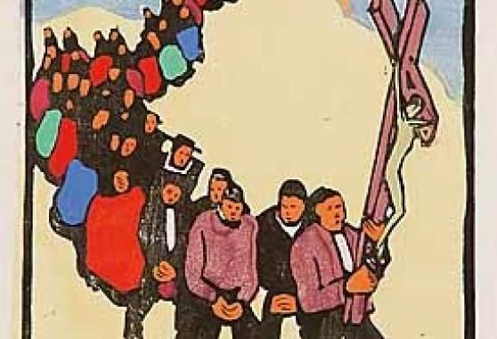 Prozession, um 1925