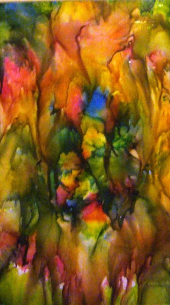 Farbenspiele II - Encaustic