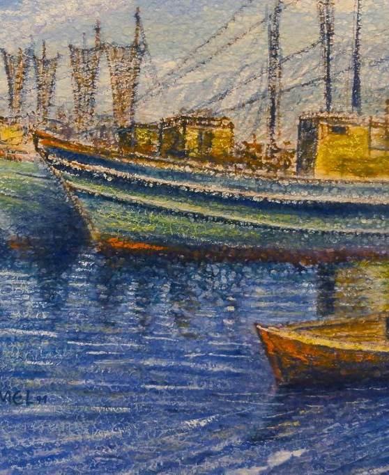 Fischerboote vor Anker