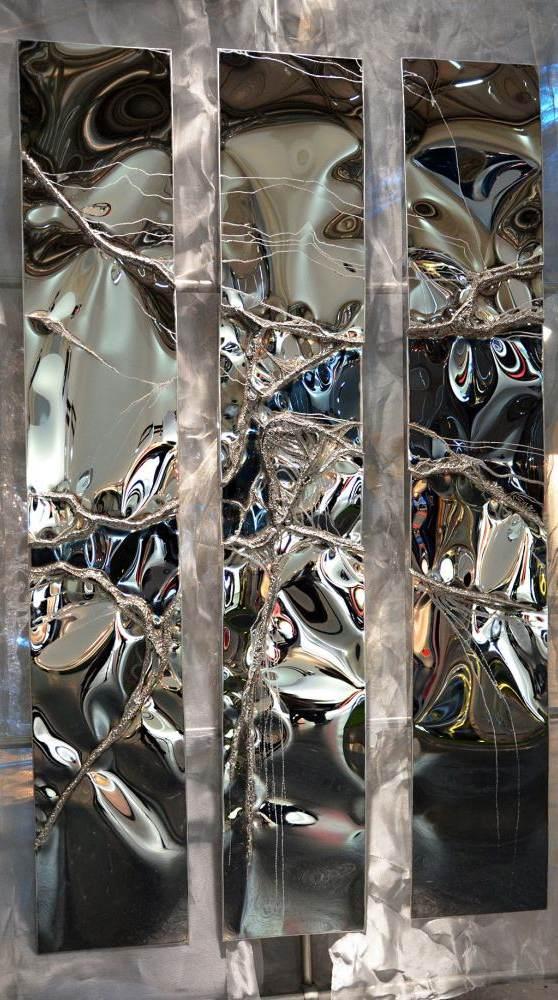 """""""Stahl-Ader"""", Metallkunst"""