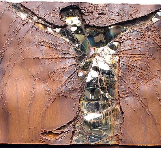 """""""Christus am Kreuz"""", Religiöse Kunst"""