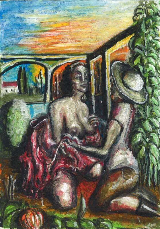 Therese und der Gärtner