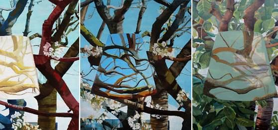 lampe und kirschbaum