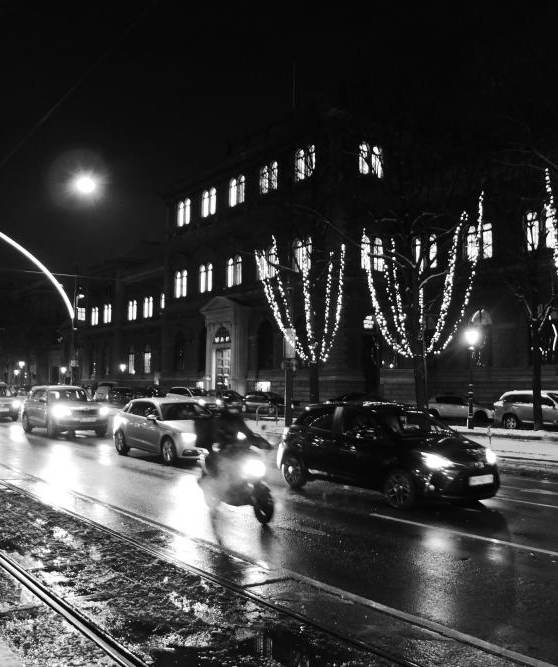 Schottenring am Nacht