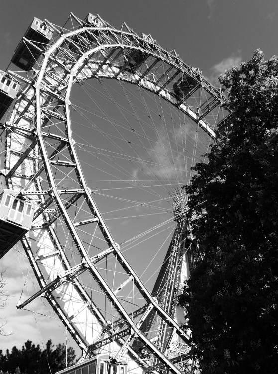 Beim Riesenrad im Prater