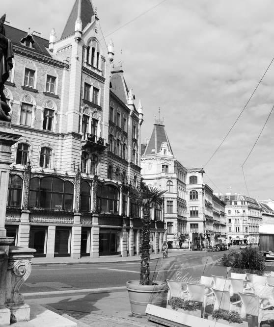 Wien Impressionen rechte Wienzeile
