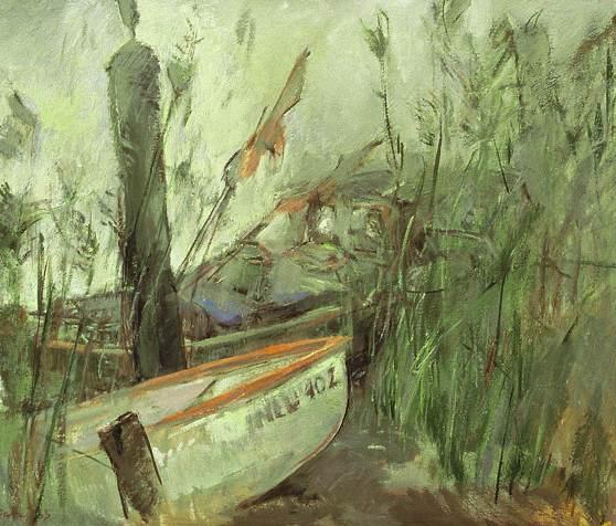 Boote im Schilf