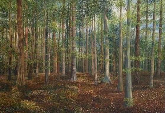 """""""Sommerwald"""" / 2003"""