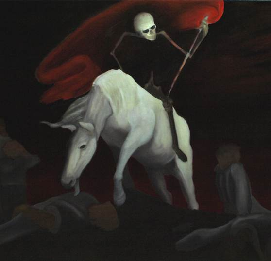 Der reitende Tod (unvollendet)