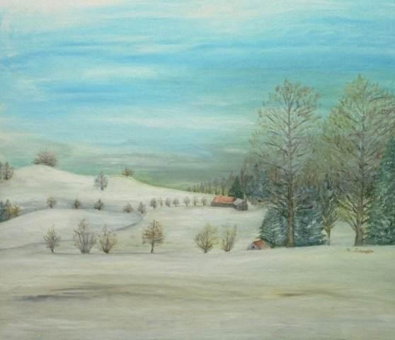 Wintergruss aus Zürich