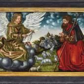Cranach, Lucas der Ältere - Werkstatt—Verkündigung an Joachim