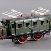 Los-Nr. 661 Märklin E-Lok RS 66/12910, Spur 0Größtenteils neu lackiert, Alters- und Gebrauchsspuren, ca. L- 23 cm