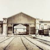 Édouard Baldus Toulon Albuminabzug, aus dem Album: Chemins de fer de Paris à Lyon et à la Méditerranée, 1861–1863