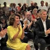 Bundesminister Alexander Schallenberg, Bundeskanzlerin Brigitte Bierlein, Josef Ostermayer, Erika Pluhar Foto: Rachele Moriggi/WestLicht