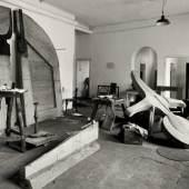 Fritz Getlinger, Das Atelier von Joseph Beuys im Kurhaus in Kleve, 1958 © VG Bild-Kunst, Bonn 2012