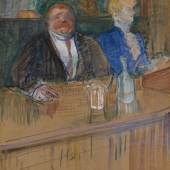 Henri de Toulouse - Lautrec Im Café. Der Patron und die bleichsüchtige Kassiererin , 1898 Kunsthaus Zürich © Kunsthaus Zürich, 2013