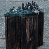 Lena Henke, City Lights (Dead Horse Bay), 2016, Ansicht Kunstverein Braunschweig 2016 © Courtesy Lena Henke, Foto: Stefan Stark