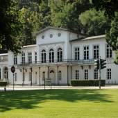 Das Friedrich-Wilhelm-Bad, ein Teil des Museum Kurhaus Kleve, in dem Joseph Beuys von 1957 bis 1964 ein Atelier besaß