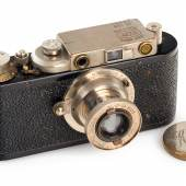 006 VOOMP II Pioner Sehr seltene und frühe russische Leica II Kopie, produziert von VOOMP (Union of Optico-Mechanical Factories). Seriennummer: 133 Schätzpreis: EUR 8.000–9.000