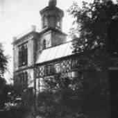 Historische Aufnahme der Pallas Athene auf Koekkoeks Belvedere, um 1900