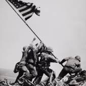 "Joe Rosenthal (1911-2006), ""Raising the Flag on Iwo Jima"", 1945 © WestLicht Photographica Auction"