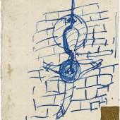Joseph Beuys, unbetitelt (Kreuz Büderich), undatiert (1958), Stiftung Museum Schloss Moyland © VG Bild-Kunst, Bonn 2016