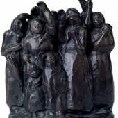 Käthe Kollwitz, Winkende Soldatenfrauen, 1937 (Bronze)