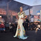 2020 Photo Contest, Portraits, Singles, 2nd Prize Black Drag Magic - Portrait of a Drag Artist and Activist © Lee-Ann Olwage