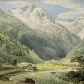 LODER, Matthäus 1781 – 1828 Böckstein bei Wildbad Gastein 1828    Auktion 61 28. Mai 2015 Zuschlag € 40.000