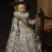 SOTHEBY'S, Jan Anthonisz. van Ravesteyn  Portrait of a Young Kolfer  £120,000 - 180,000