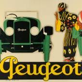 / René Vincent, Peugeot, Plakat, 1928, Lithografie  © MKG, Hamburg / VG Bild-Kunst, Bonn 2020