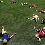 2020 Photo Contest, Sport, Stories, 3rd Prize Japan's Veteran Rugby Players © Kim Kyung-Hoon for Reuters