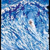 No Title (Drop in with...), 1999 The notion of escape from expectations of others and the anti-hero is one of the strongest identities within the Pettibon character lexicon. The most significant – or perhaps recognisable