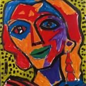 Kat.Nr. 178 A. R. Penck, Analytisches Porträt € 30.000 - 50.000