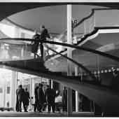 Reuchlinhaus: Wendeltreppe im Foyer Eröffnung im Oktober 1961  Schmuckmuseum Pforzheim