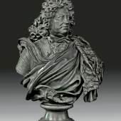 Andreas Schlüter: Büste des Landgrafen Friedrich II. von Hessen Homburg, Berlin, 1701. Bronze. © B Schloß / Foto: Renate Deckers-Matzko