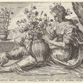 Cornelis Cort, De Reuk (Odoratus), 1561  Druck, 209 x 268 mm Rijksmuseum, Amsterdam © Foto: Rijksmuseum, Amsterdam