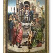 "Cornelis Engebrechtsz  ""Ecce Homo"", Öl auf Holz, H x B: 91 x 63 cm  Foto: Kunsthandel Reinhold Hofstätter"