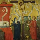 Meister des Sinziger Kalvarienberges, Ars bene moriendi, um 1475, Suermondt- Ludwig-Museum, Aachen © Foto Anne Gold, Aachen