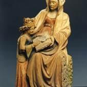 Nordfrankreich, Unterweisung Mariens (Detail), um 1450 © Senger, Bamberg
